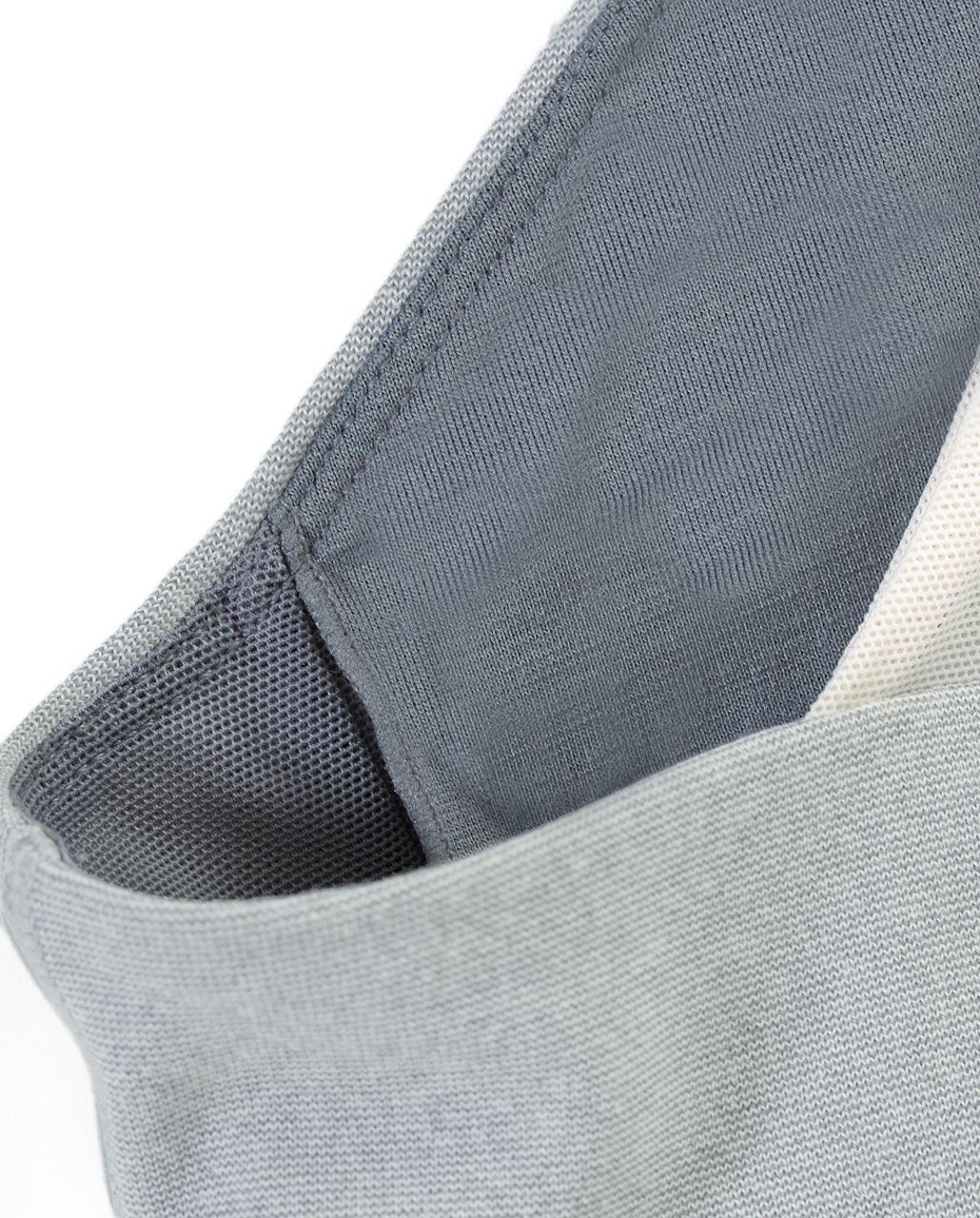 Lululemon Scoop Neck Tank - Ghost Blurred Grey Mini Stripe