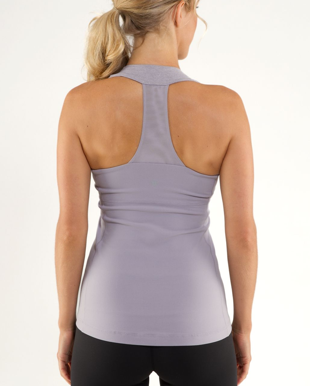 Lululemon Scoop Neck Tank - Lavender Grey /  Heathered Lavender Grey