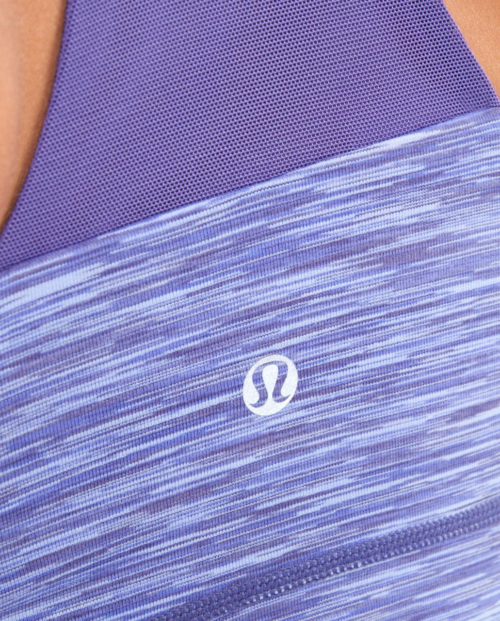 Lululemon Scoop Neck Tank - Royalty Space Dye /  Royalty
