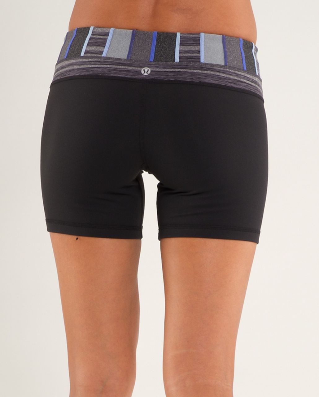 Lululemon Groove Short - Black /  Quilt 18