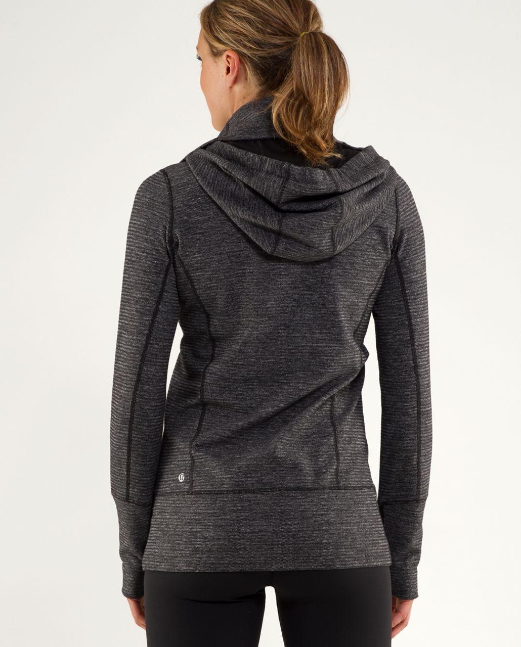 Lululemon Stride Jacket *Soft Mini Check - Black Heathered Coal Mini Check /  Black