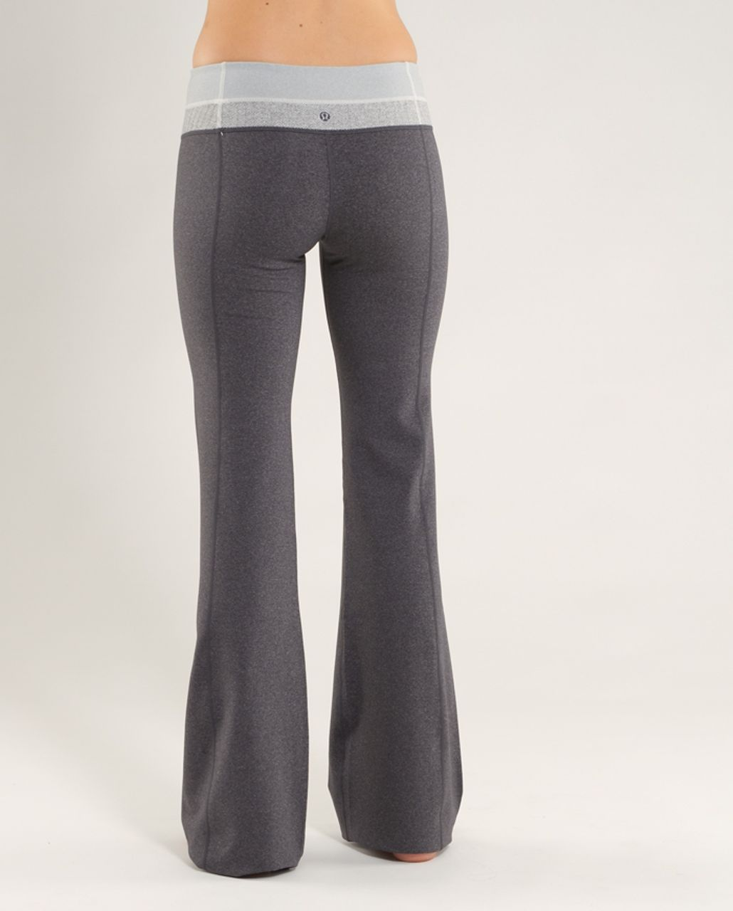 Lululemon Groove Pant (Regular) - Heathered Coal /  Ghost Blurred Grey Mini Stripe