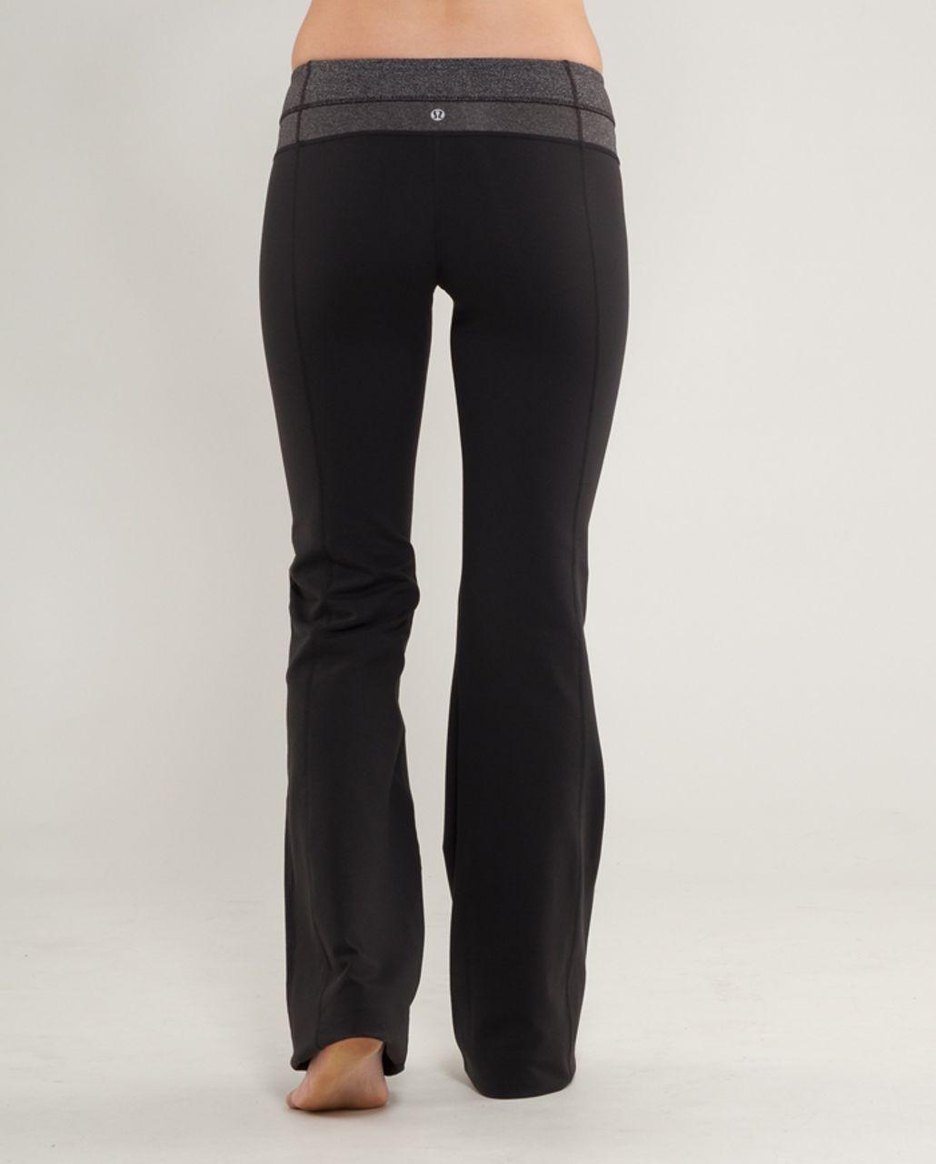Lululemon Groove Pant (Regular) - Black /  Black Heathered Deep Coal Herringbone /  Heathered Black