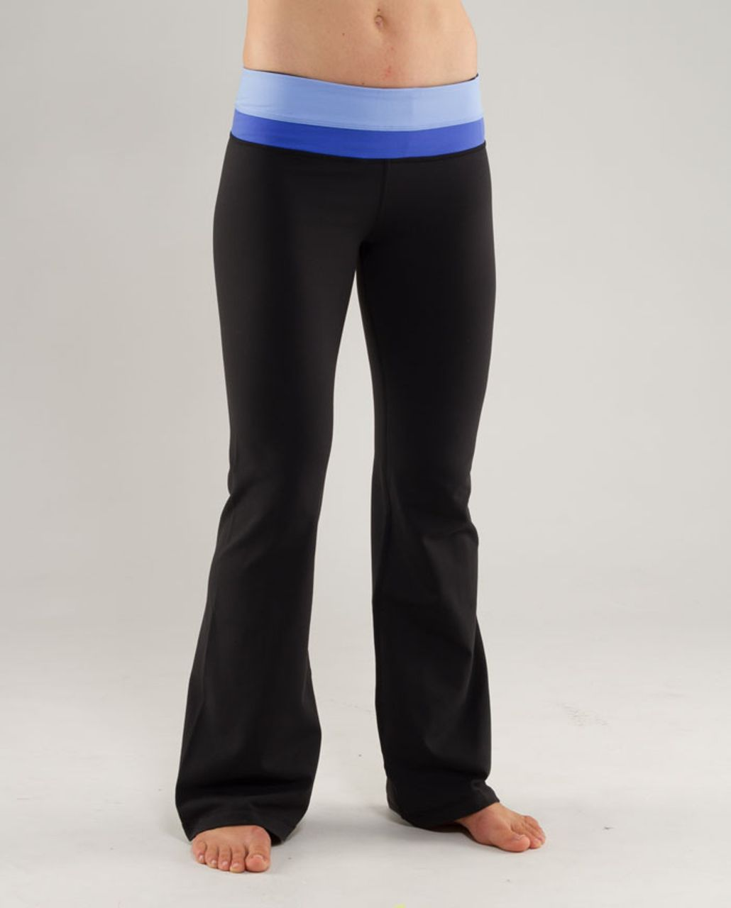 Lululemon Groove Pant (Regular) - Black /  Clear Sky /  Rocksteady