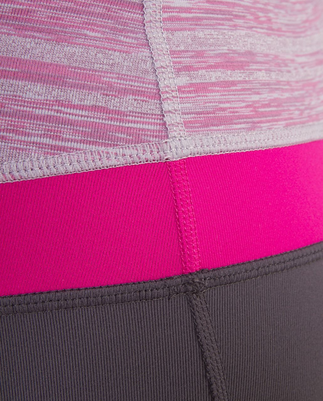 Lululemon Groove Pant (Regular) - Coal /  Muted Mauve Stripes Galore /  Raspberry
