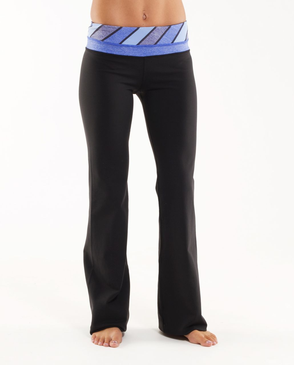 Lululemon Groove Pant (Regular) - Black /  Quilt 26 /  Heathered Rocksteady