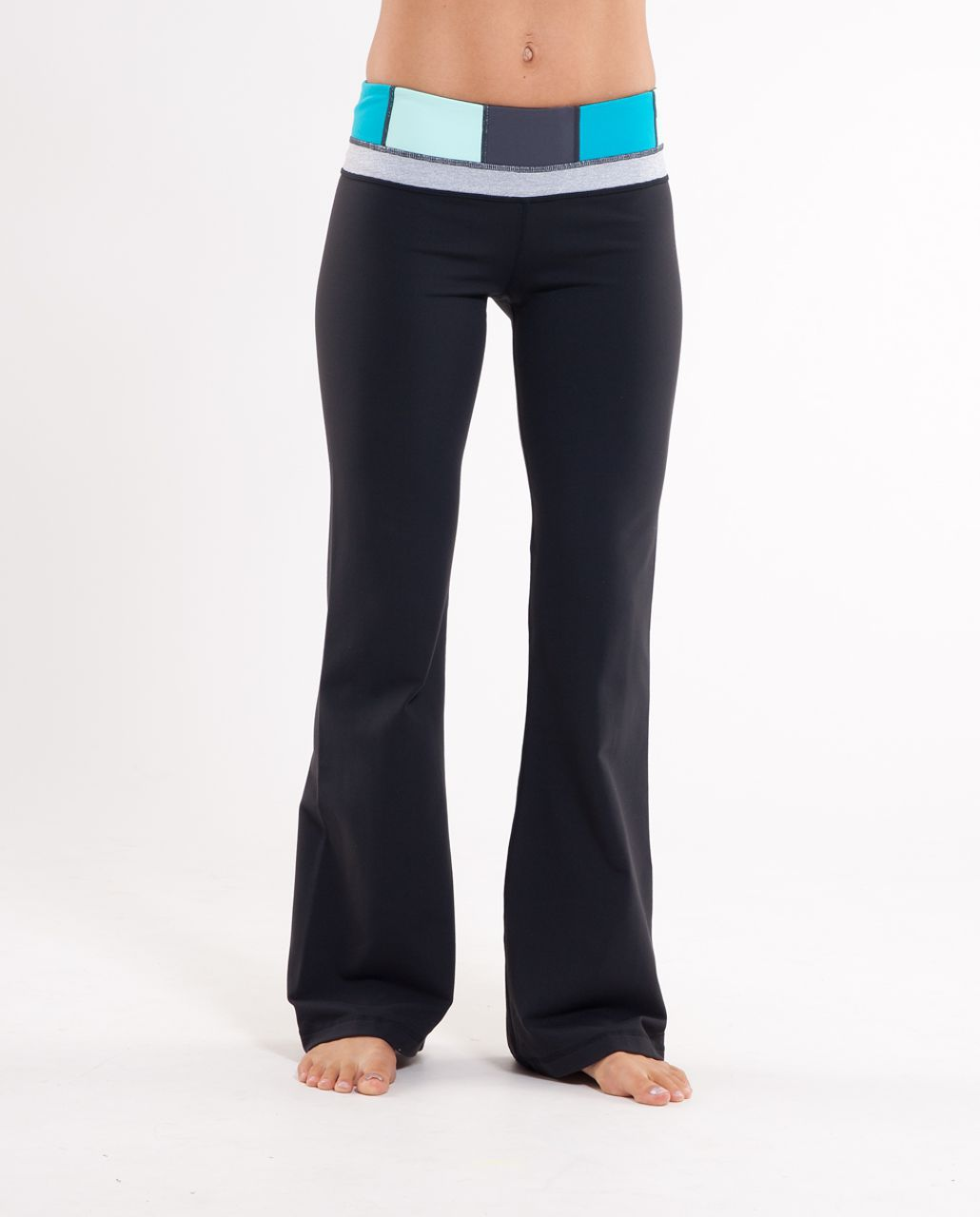 Lululemon Groove Pant (Regular) - Black /  Quilt Summer 2