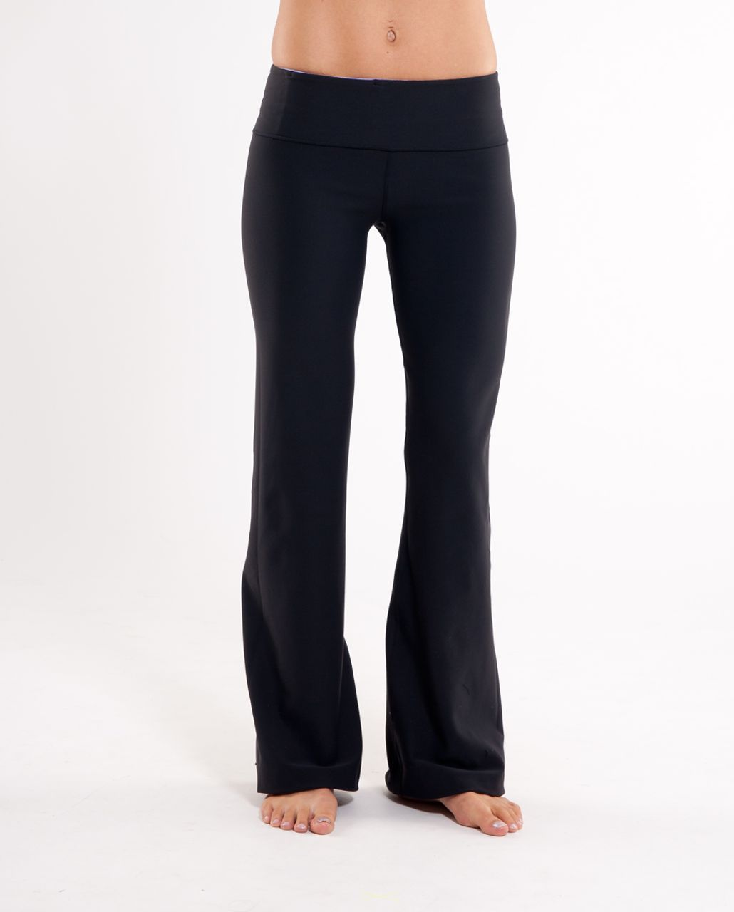 Lululemon Groove Pant (Regular) - Black /  Heathered Grapeseed /  Grapeseed