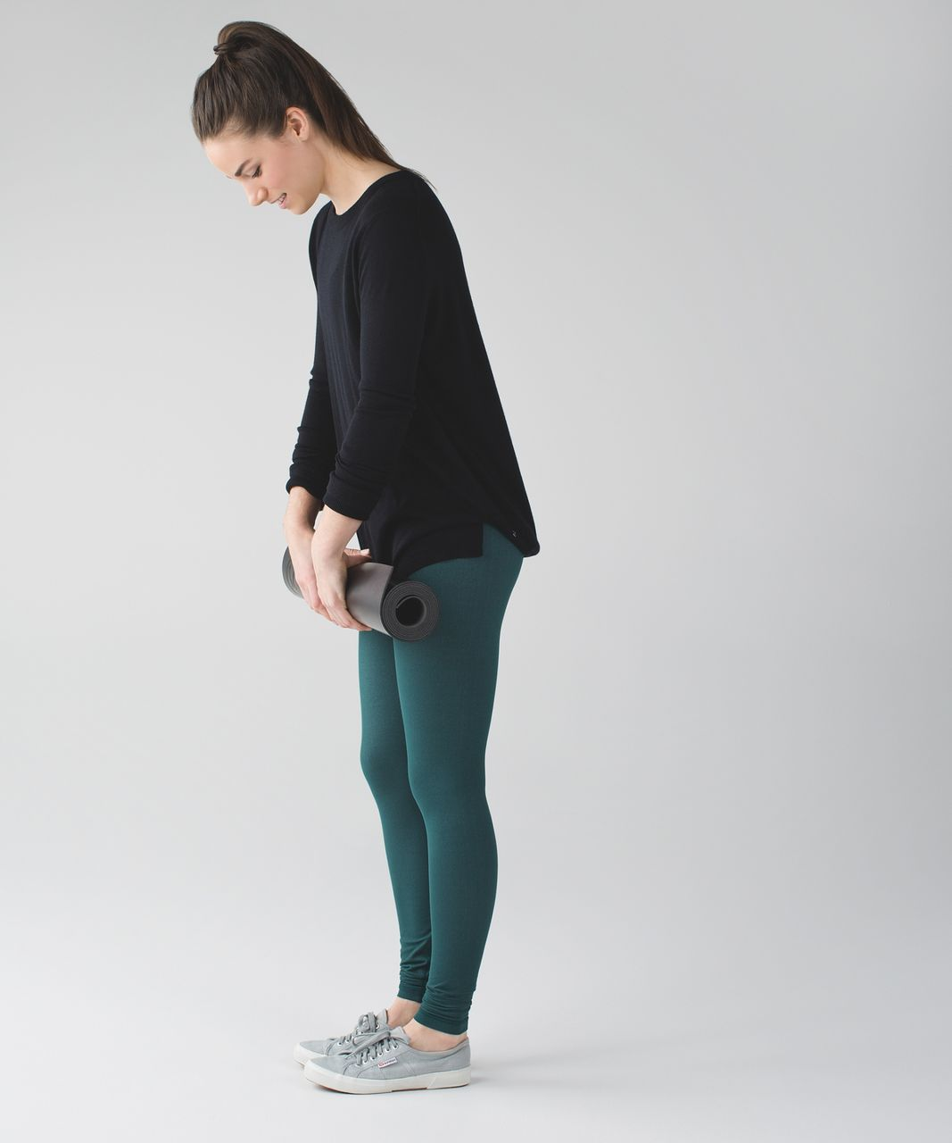 Lululemon Wunder Under Pant III - Deep Green