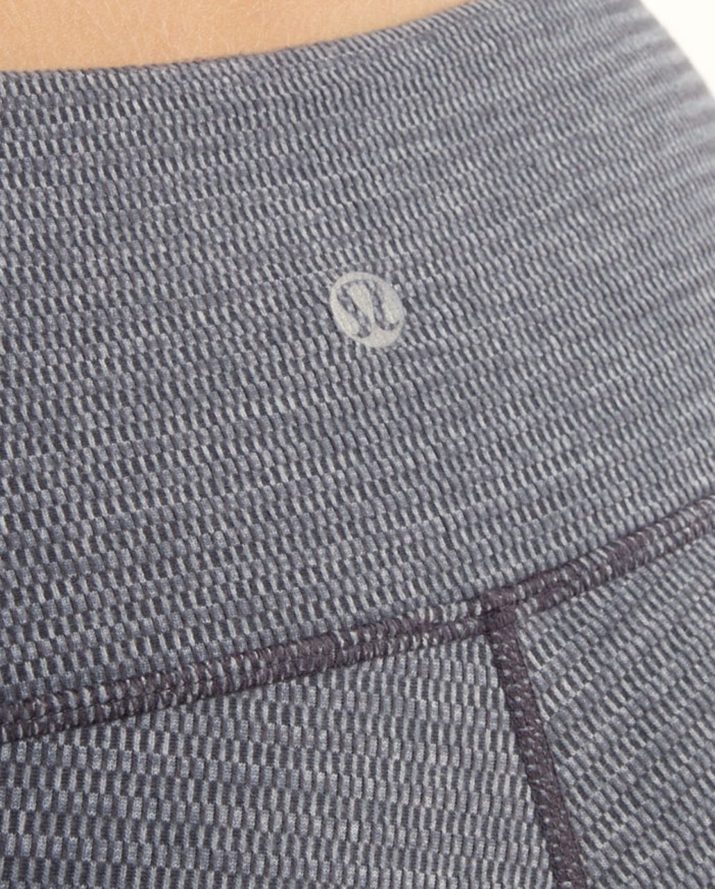 Lululemon Wunder Under Pant *Reversible - Deep Coal Mini Check