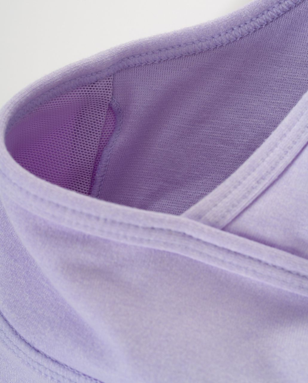 Lululemon Deep V Tank - Heathered Lilac