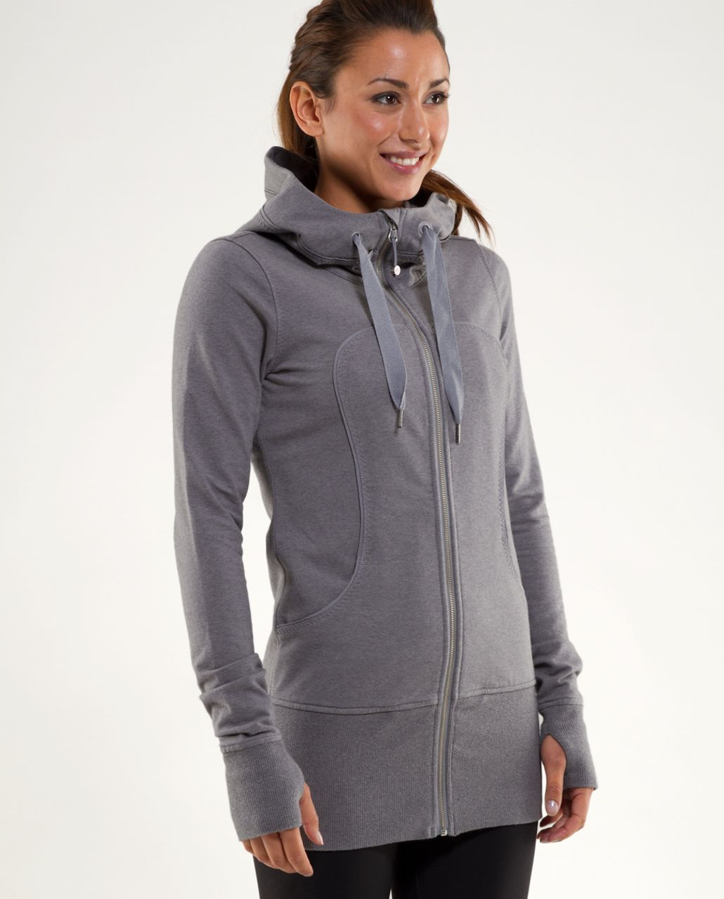 Lululemon Live Simply Jacket - Heathered Blurred Grey