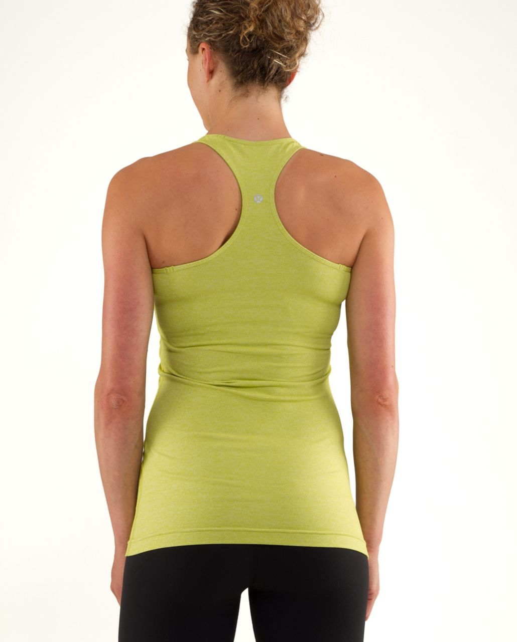 Lululemon Cool Racerback - Heathered Tree Frog