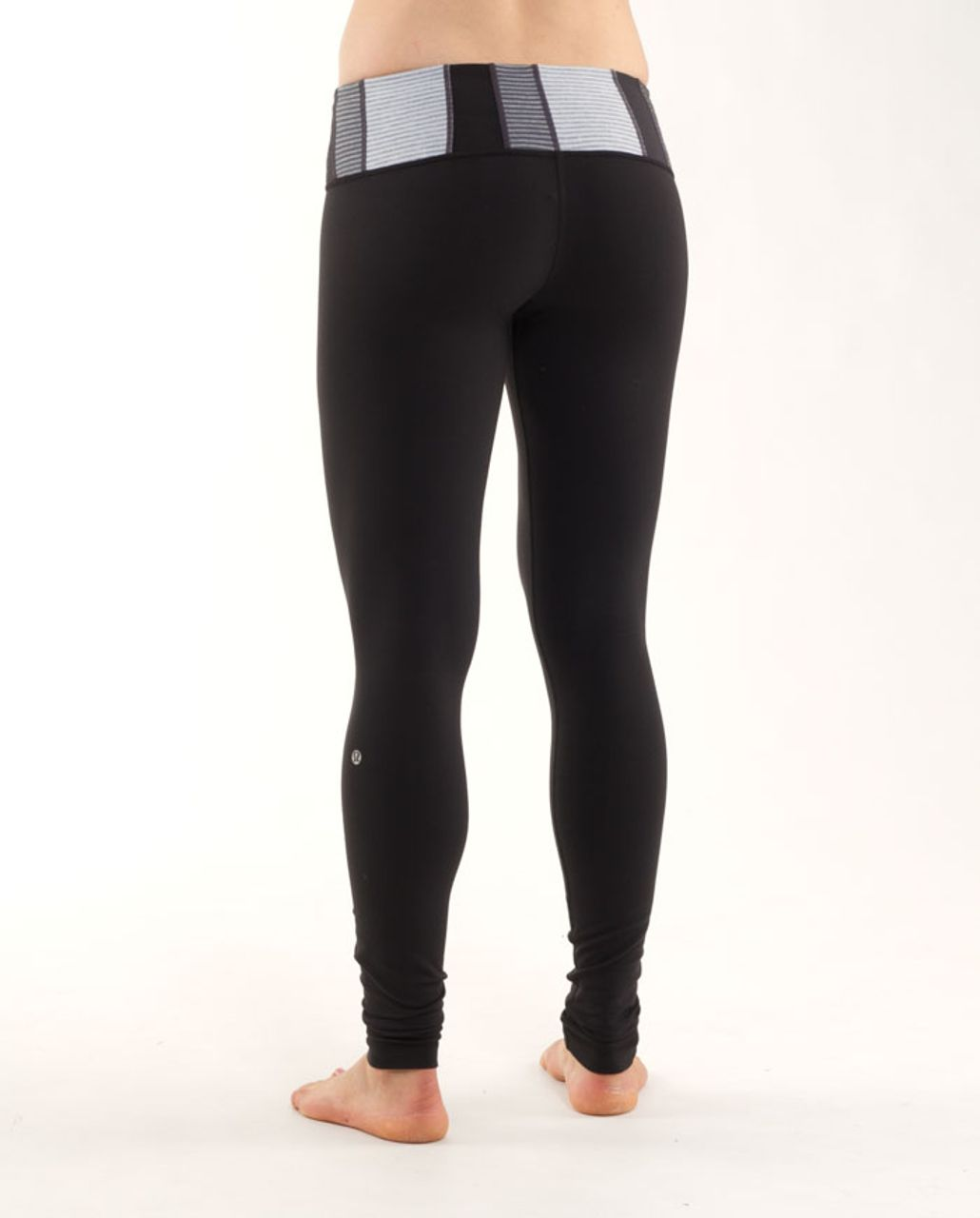 Lululemon Wunder Under Pant (First Release) - Black /  Quilting Winter 12
