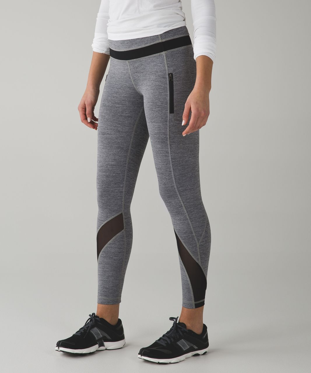b759b9fddf Lululemon Inspire Tight II (Mesh) - Space Dye Camo Black Dark Slate - lulu  fanatics