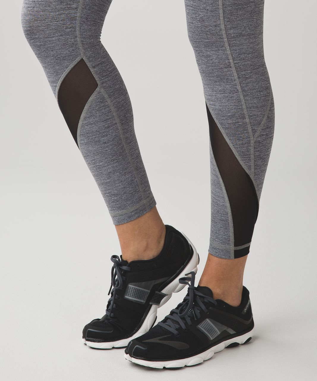 Lululemon Inspire Tight II (Mesh) - Space Dye Camo Black Dark Slate