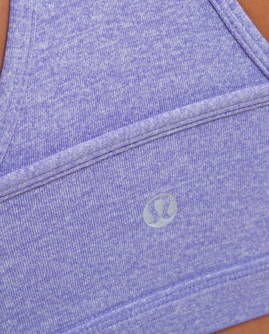 Lululemon Deep V Bra - Heathered Persian Purple