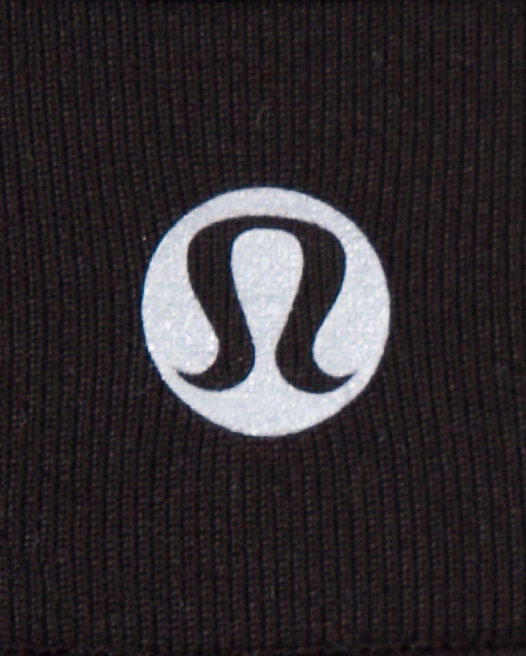 Lululemon Wunder Under Crop *Reversible - Black /  Deep Coal