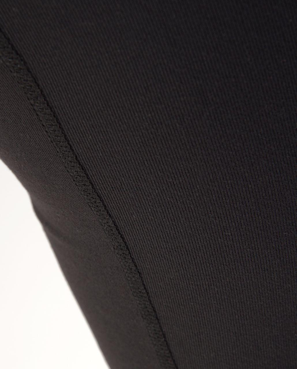 Lululemon Groove Crop - Black /  Quilt 24 /  Coal Wee Stripe