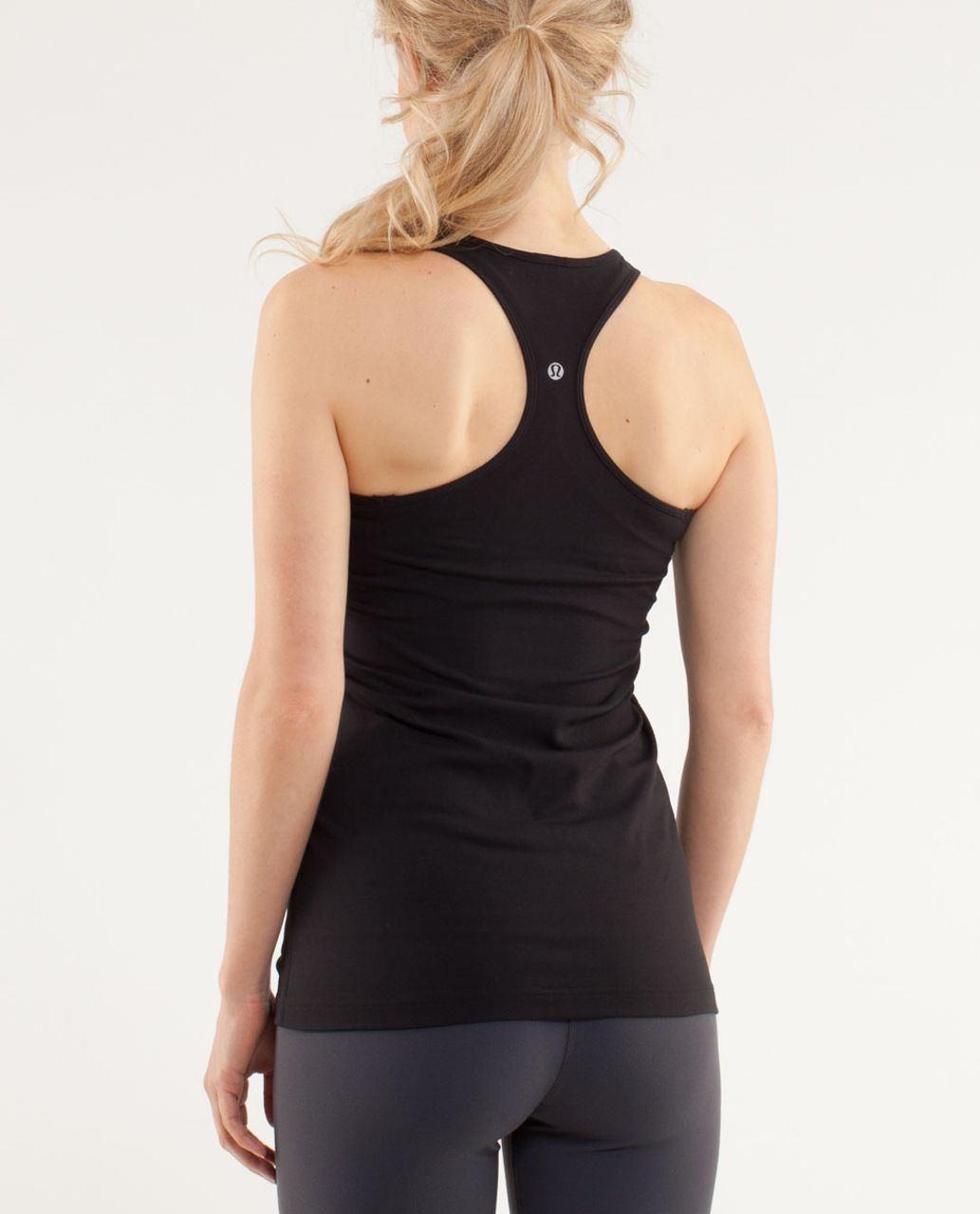 Lululemon Cool Racerback *Zipper - Black