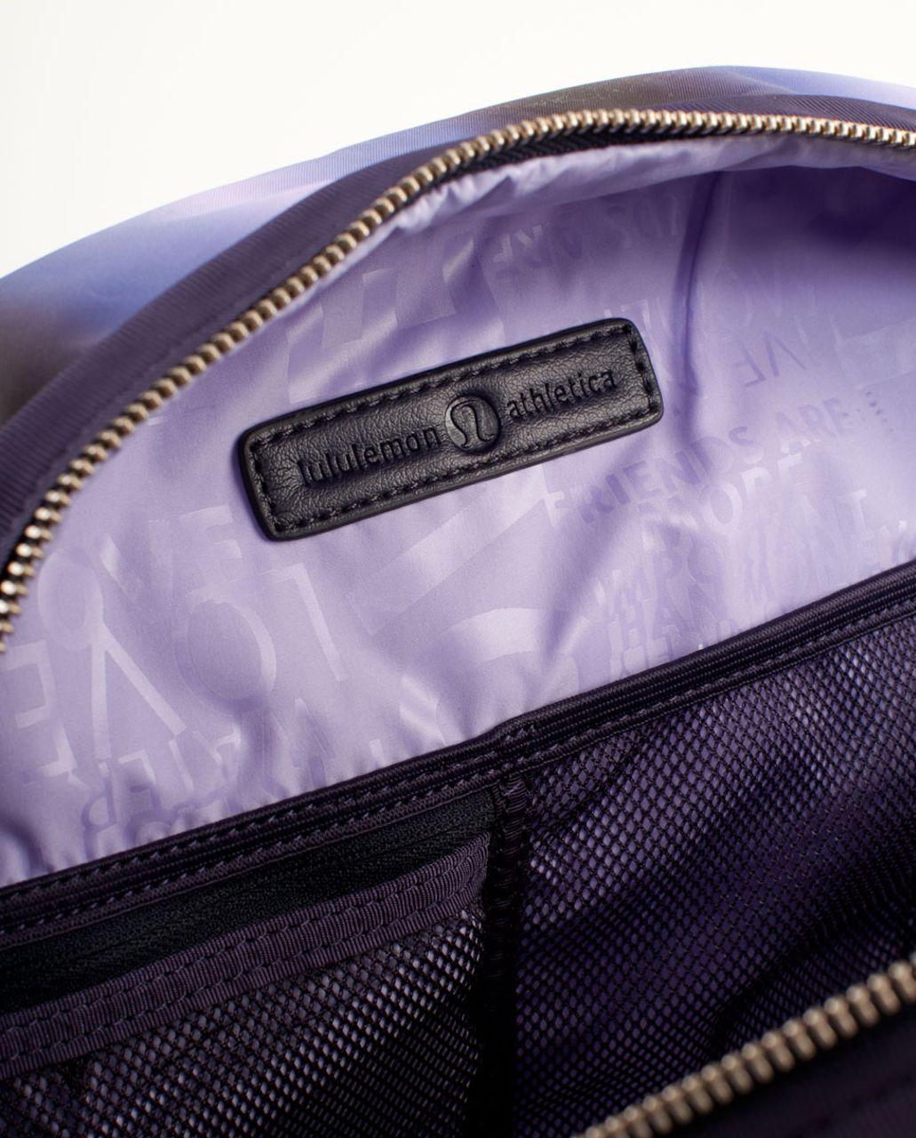 Lululemon Still Groovy Bag - Black Swan Persian Purple Lilac Gradient