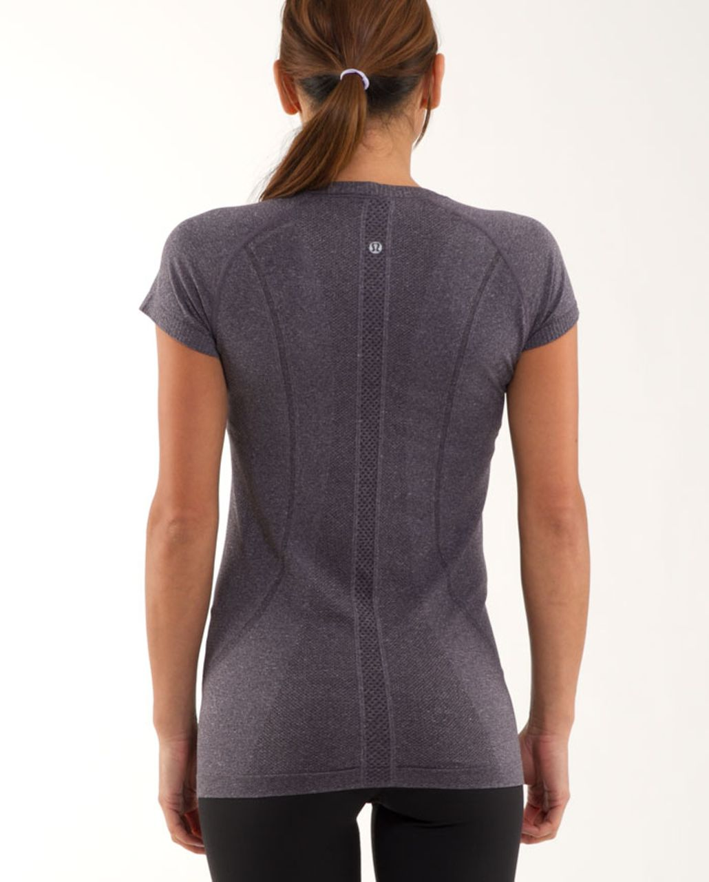 Lululemon Run:  Swiftly Tech Short Sleeve - Black Swan