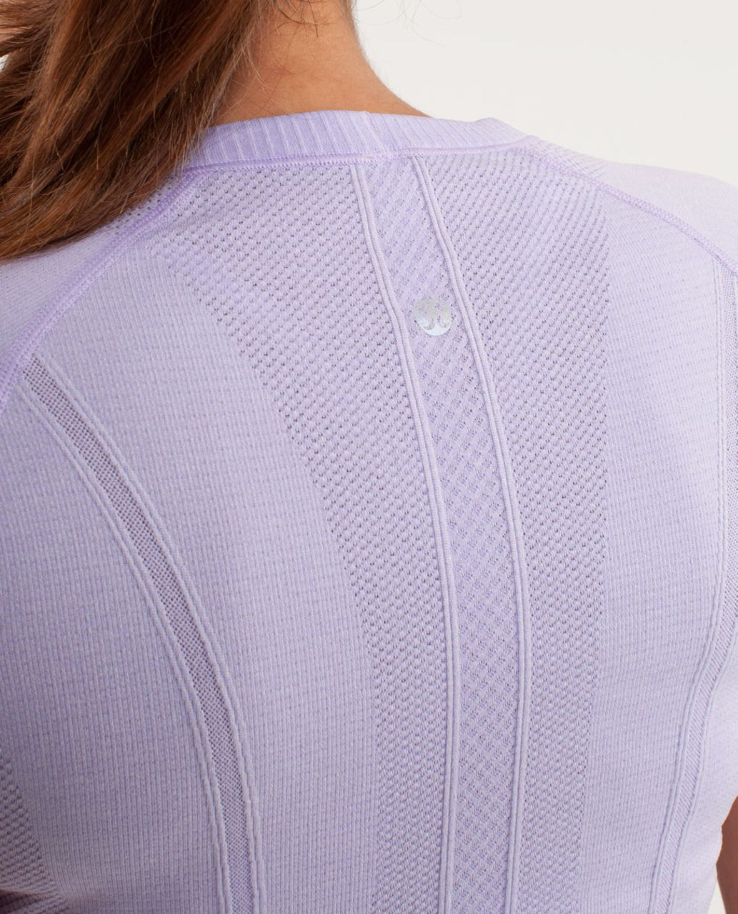 Lululemon Run:  Swiftly Tech Short Sleeve - Lilac