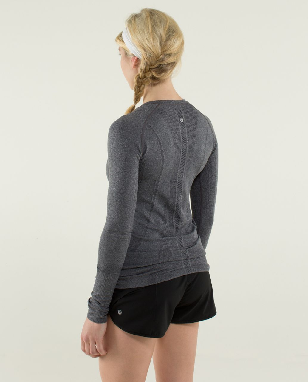 Lululemon Run:  Swiftly Tech Long Sleeve - Black