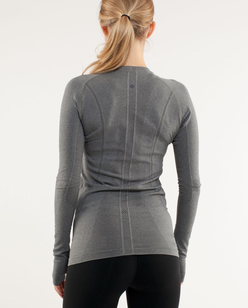 Lululemon Run:  Swiftly Tech Long Sleeve - Dark Classic Sport Grey