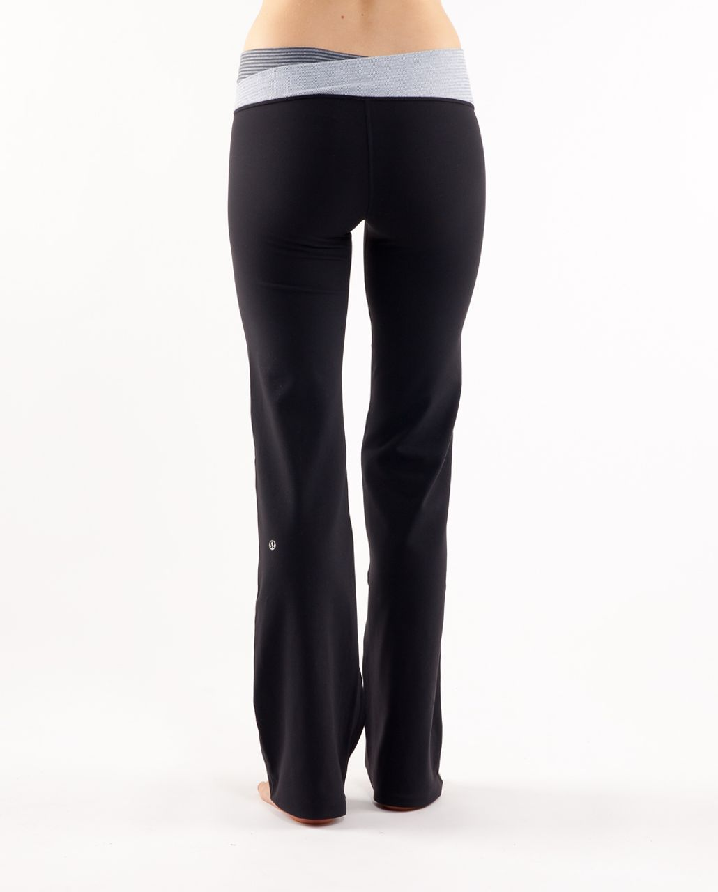 Lululemon Astro Pant (Regular) - Black /  Deep Coal Mini Check /  White Heathered Blurred Grey Mini Check