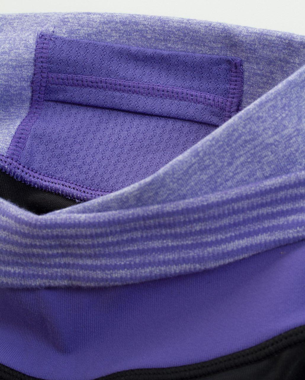 Lululemon Astro Pant (Regular) - Black /  Heathered Persian Purple /  Persian Purple Heathered Persian Mini Check