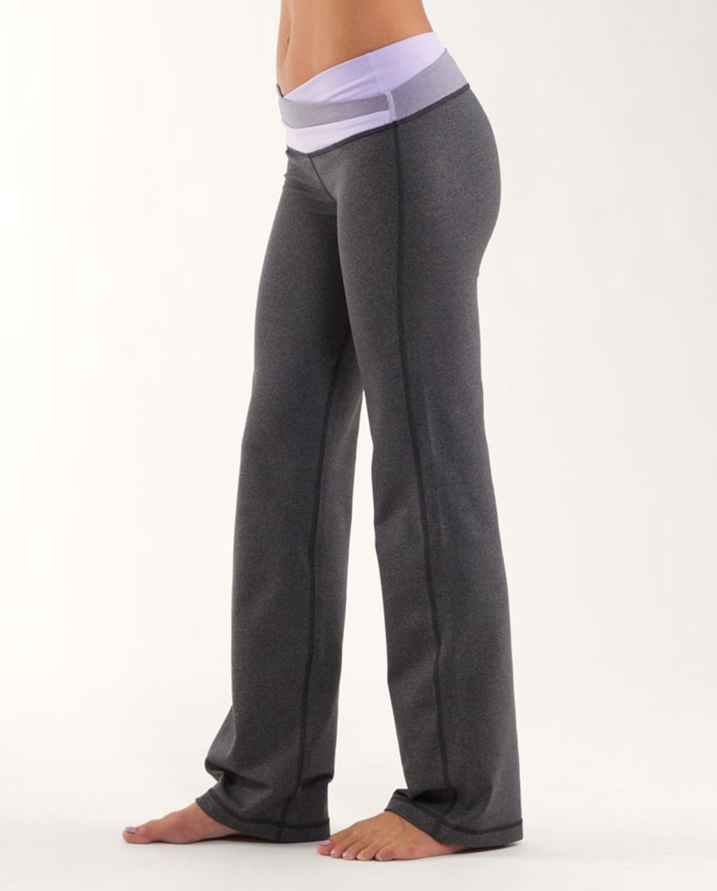 Lululemon Astro Pant (Regular) - Heathered Coal /  Lilac /  Lilac Heatehred Coal Wee Stripe