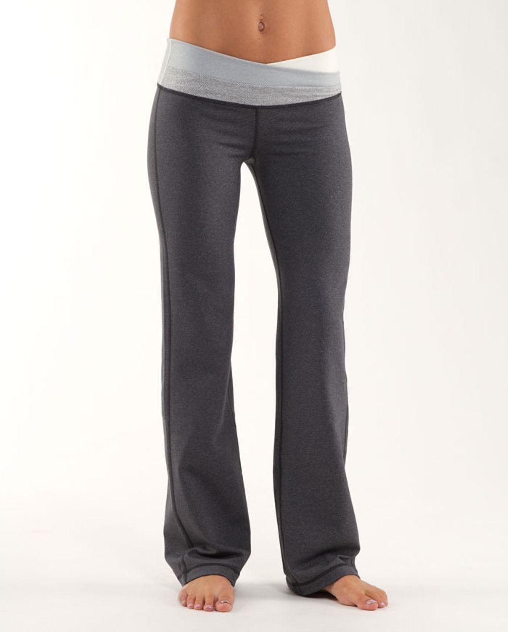 Lululemon Astro Pant (Regular) - Heathered Coal /  Ghost /  Ghost Blurred Grey Mini Stripe