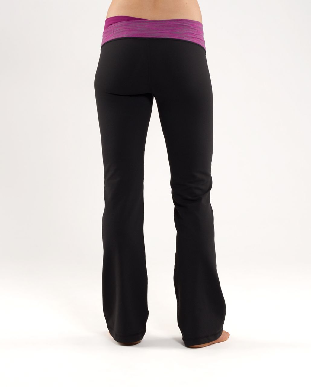 Lululemon Astro Pant (Regular) - Black /  Magnum Space Dye /  Dew Berry Space Dye