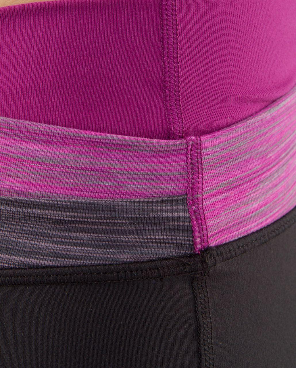 Lululemon Astro Pant (Regular) - Black /  Magnum Space Dye /  Dew Berry Space Dye