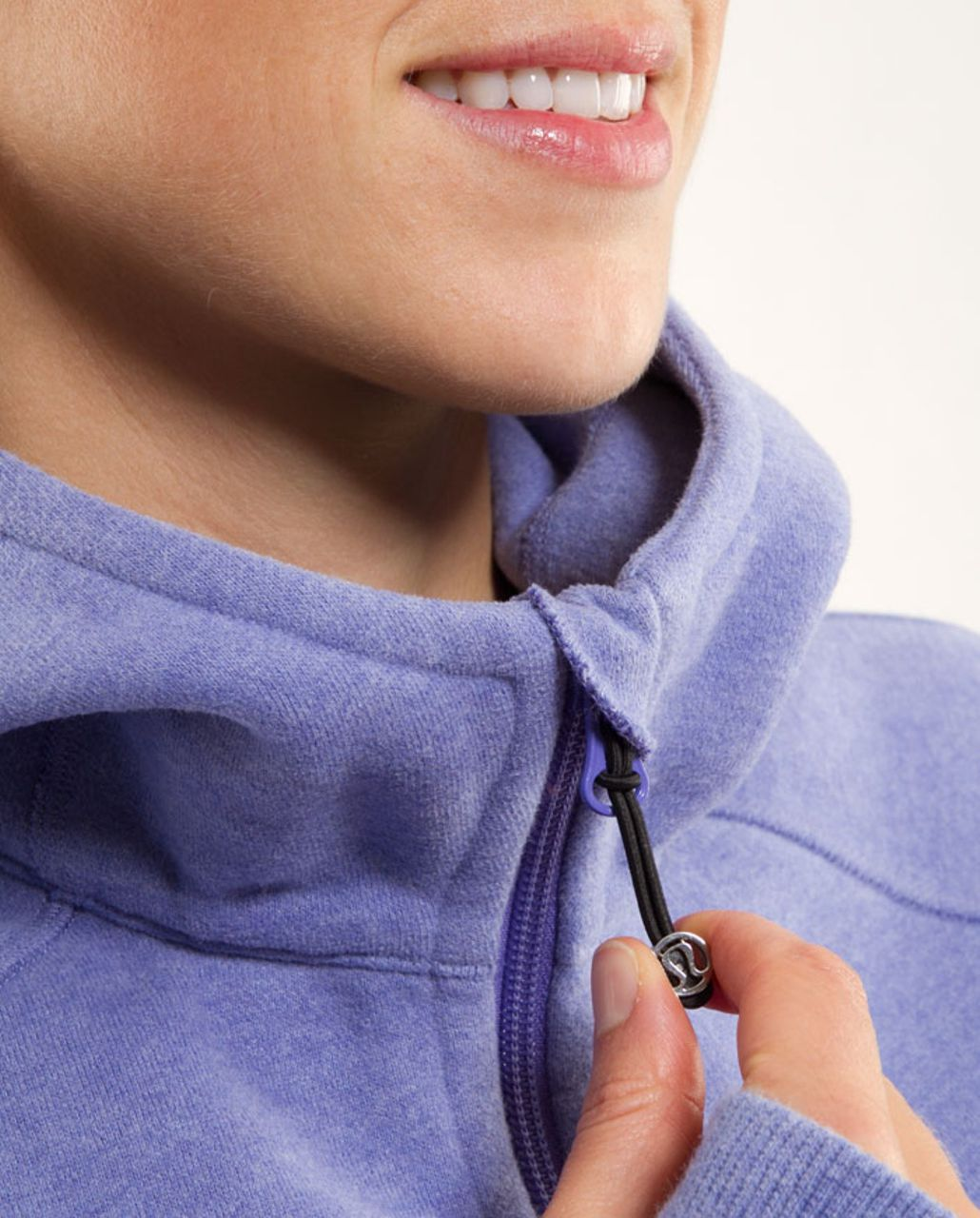 Lululemon Scuba Hoodie - Heathered Persian Purple /  Persian Purple