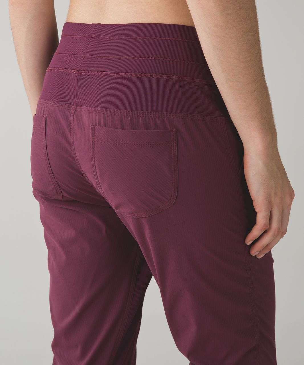 Lululemon Street To Studio Pant II - Red Grape