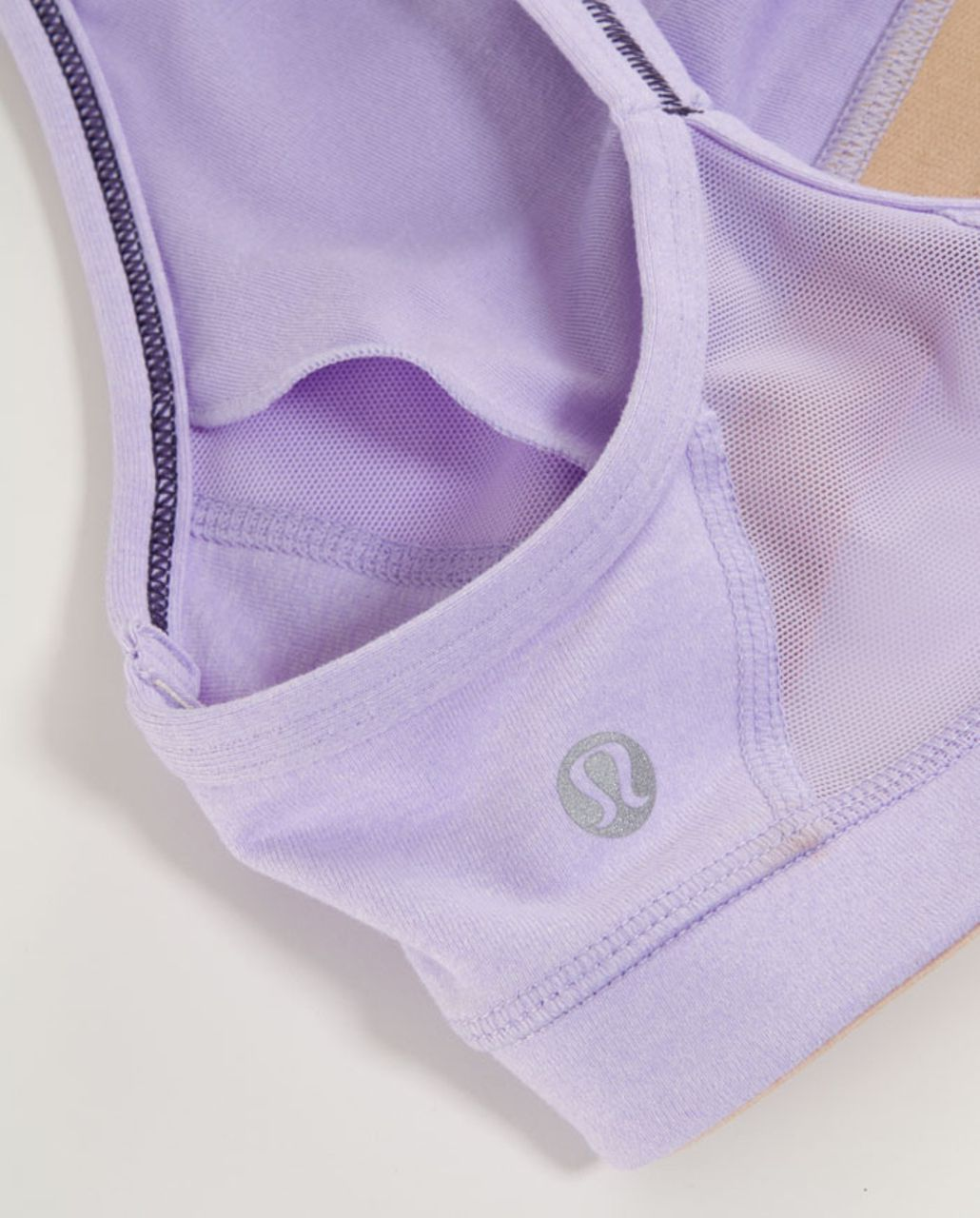 Lululemon Flow Y Bra IV - Heathered Lilac /  Lilac