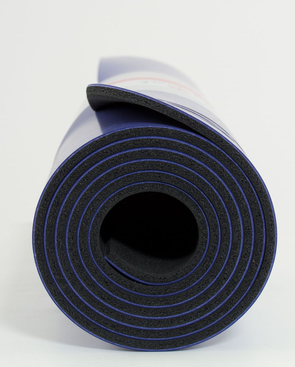 Lululemon The Mat - Persian Purple /  Deep Coal