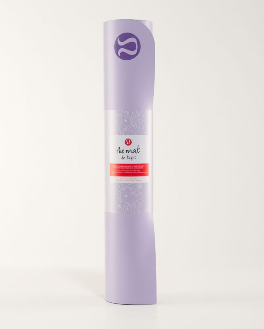 Lululemon The Mat - Lilac /  Black Swan