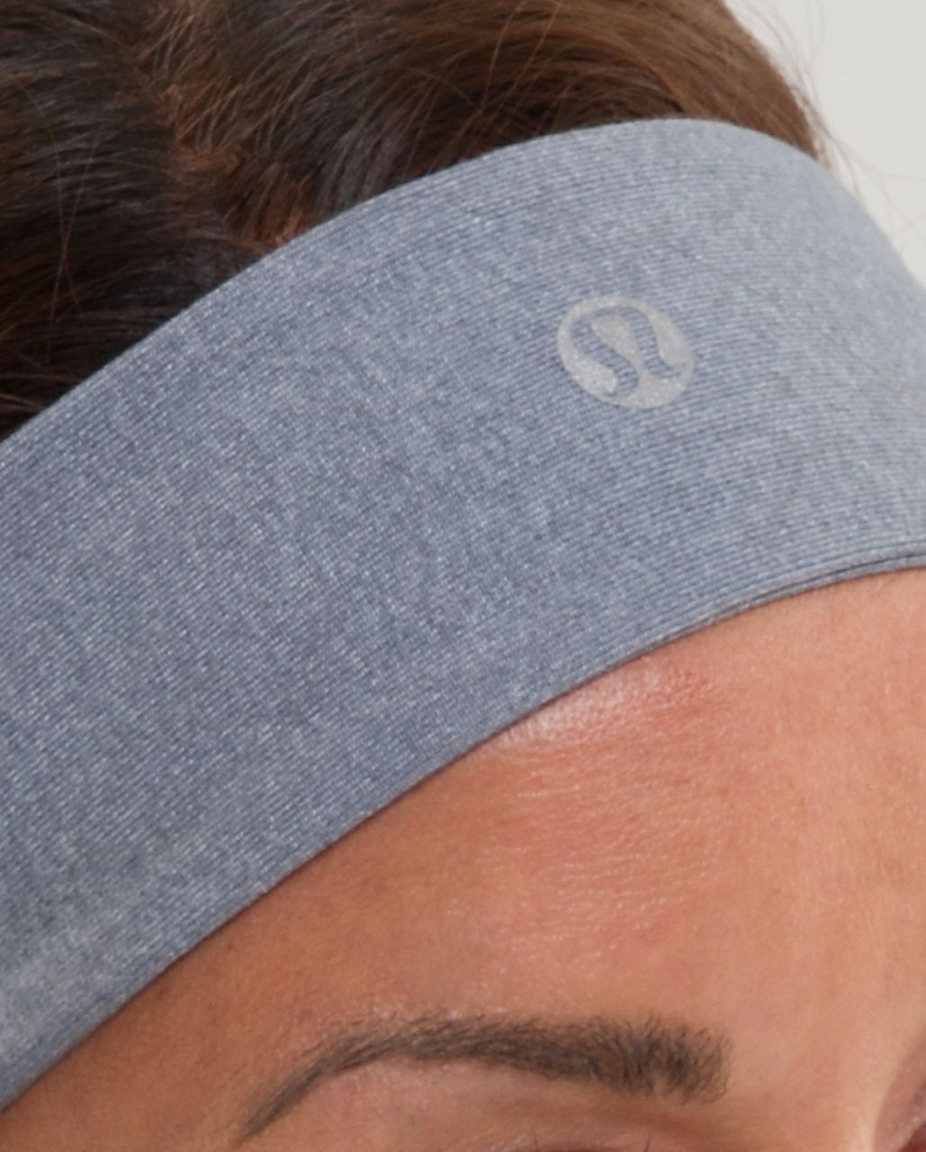 Lululemon Lucky Luon Headband - Heathered Blurred Grey