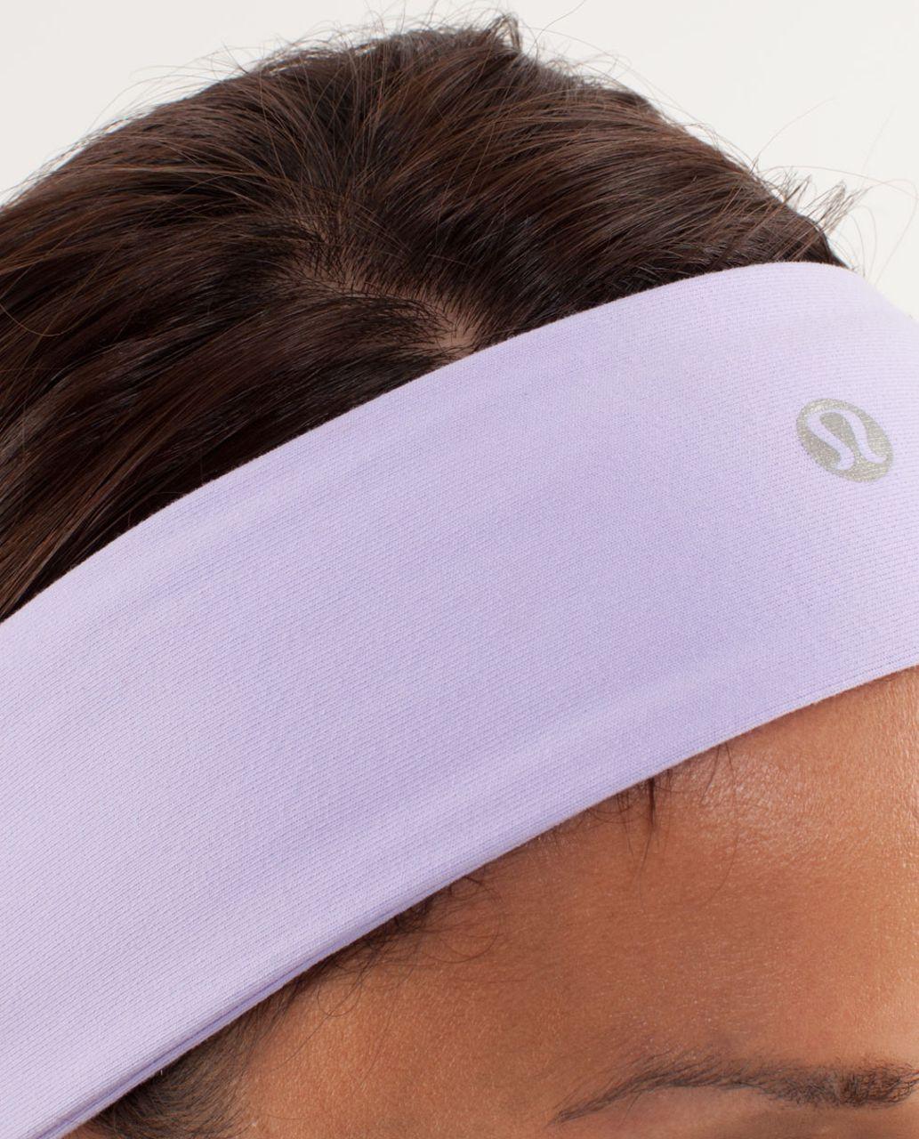 Lululemon Lucky Luon Headband - Lilac