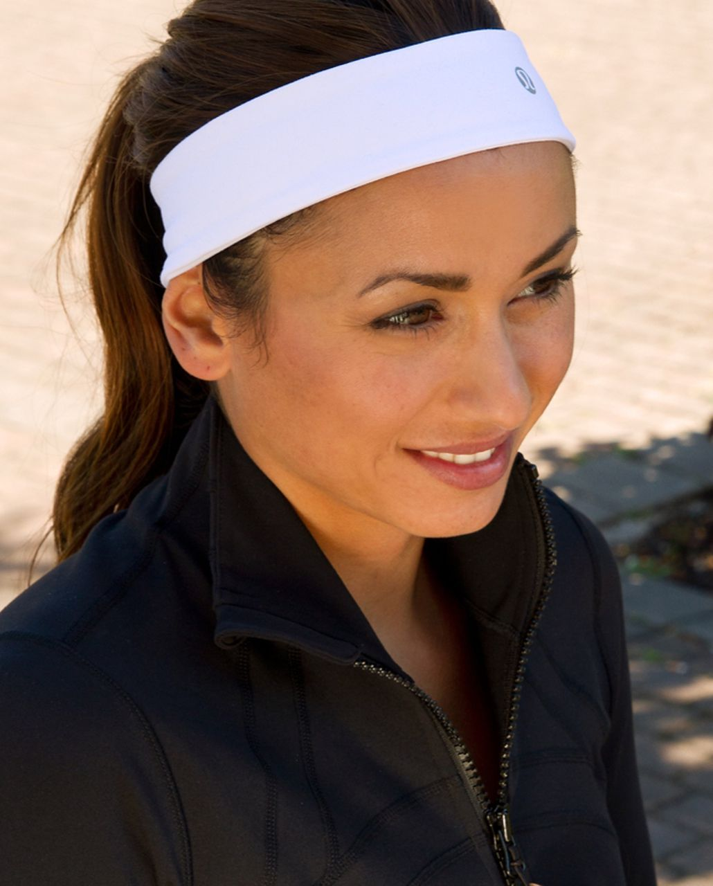 Lululemon Lucky Luon Headband - White