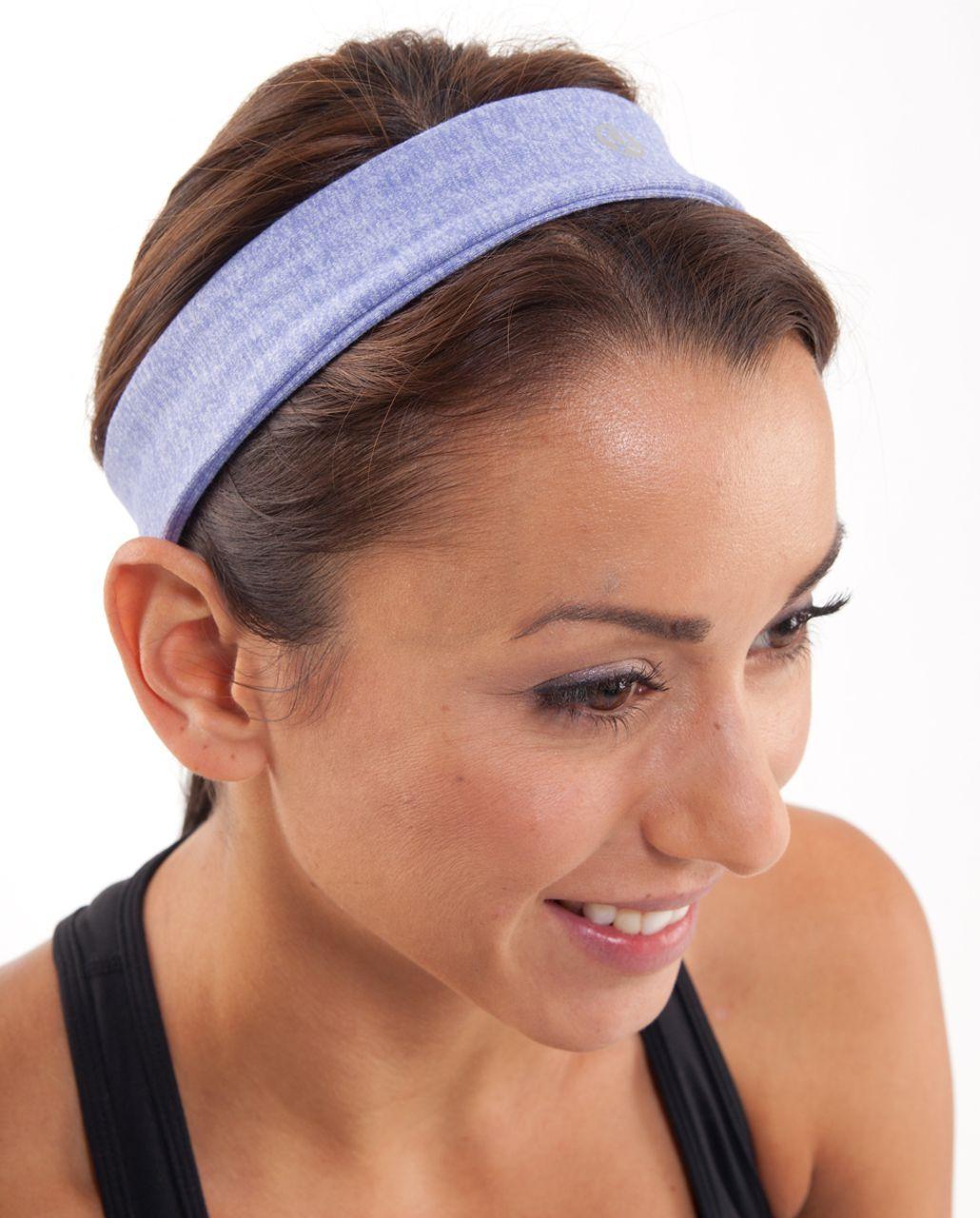 Lululemon Slipless Headband - Heathered Persian Purple