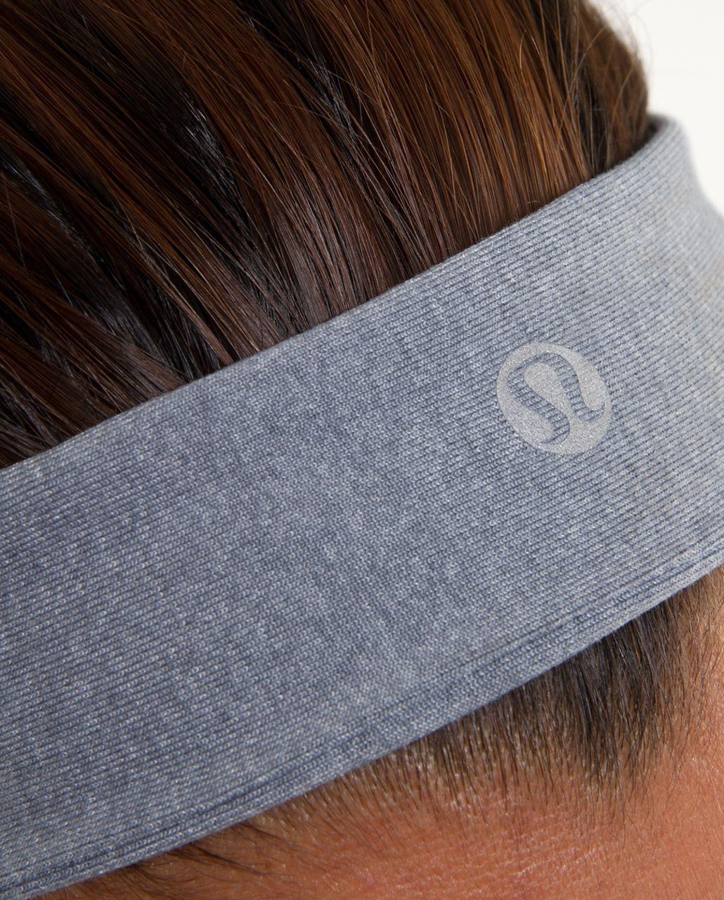 Lululemon Slipless Headband - Heathered Blurred Grey