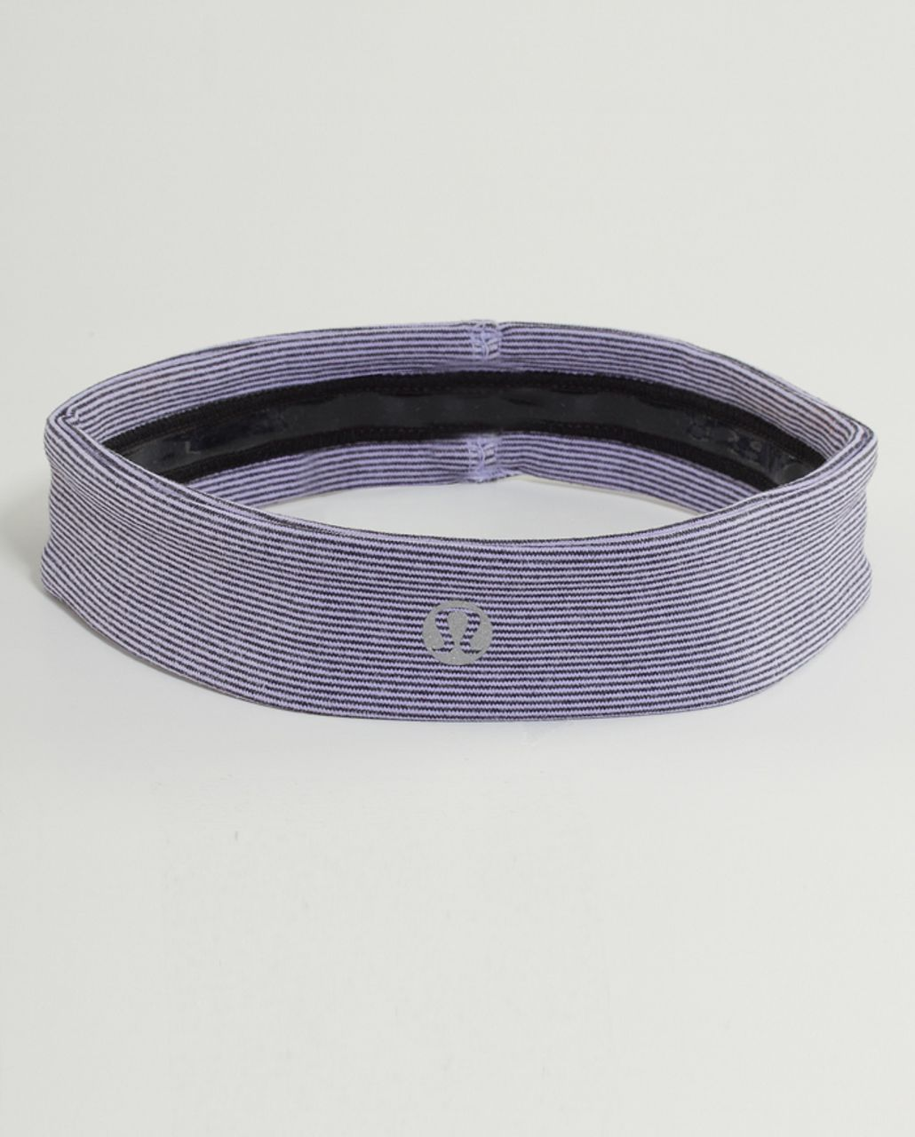 Lululemon Slipless Headband - Lilac Heathered Coal Wee Stripe