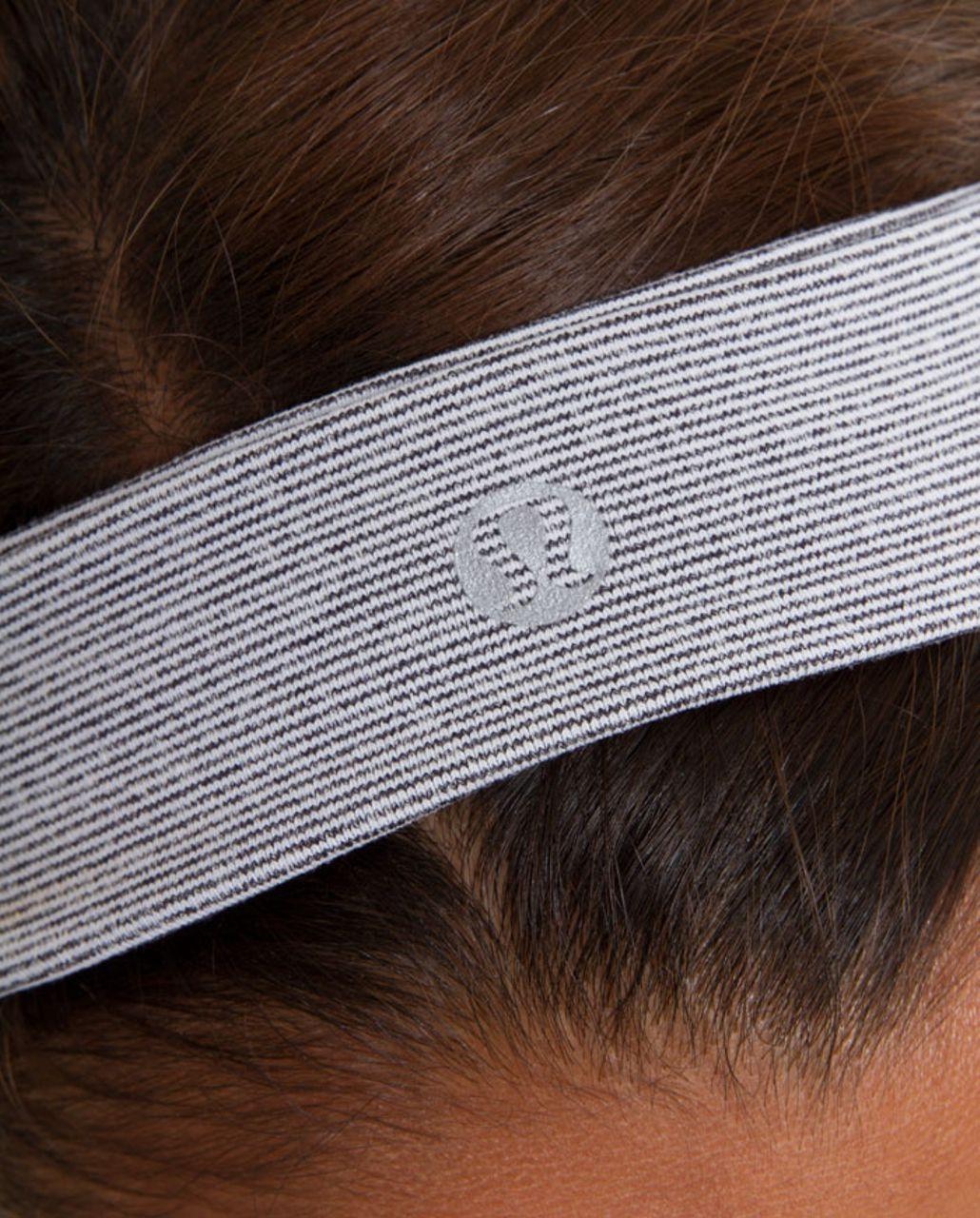 Lululemon Slipless Headband - Coal Wee Stripe
