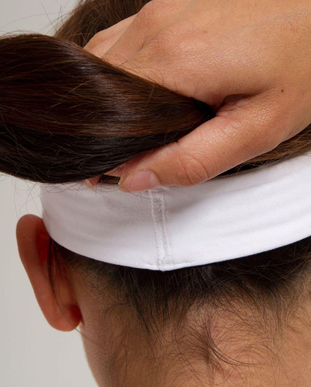 Lululemon Slipless Headband - White (First Release)