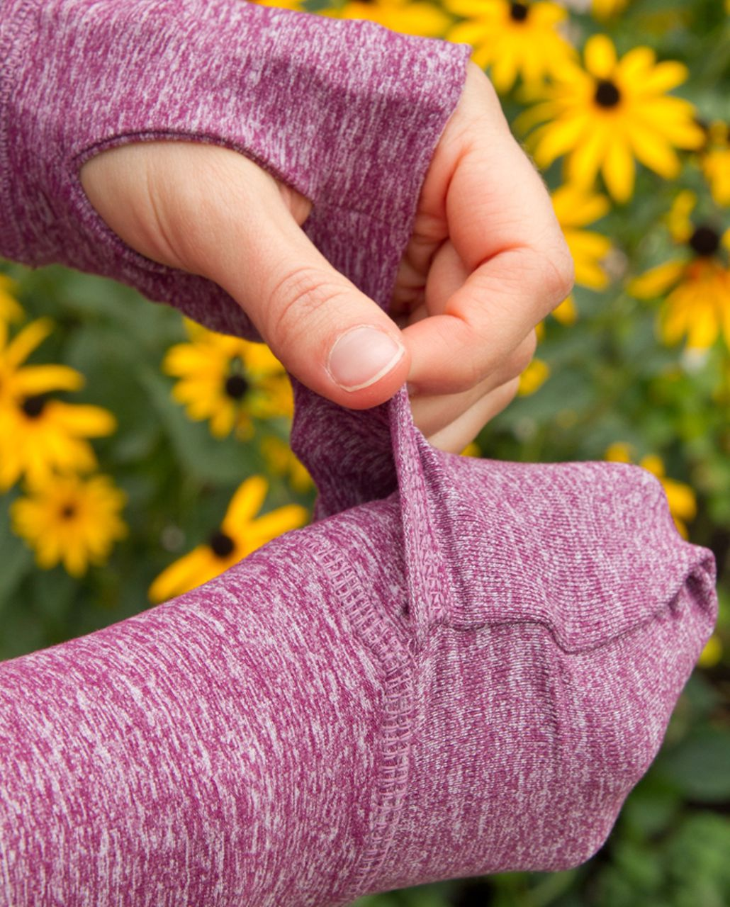 Lululemon Run:  Your Heart Out Pullover - Heathered Plum