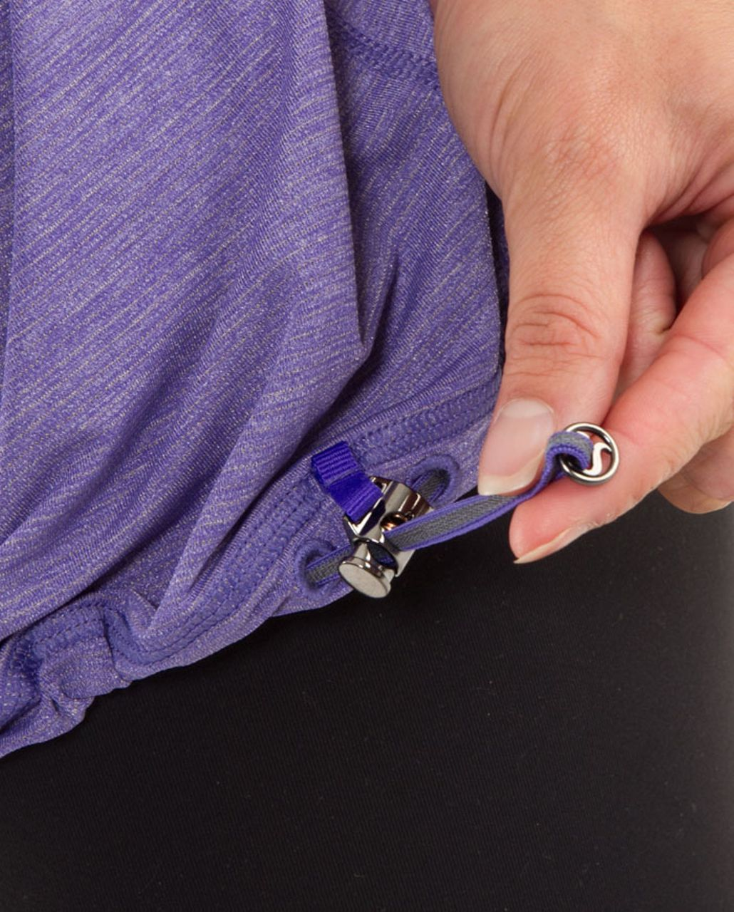 Lululemon Run:  Your Heart Out Tank - Heathered Persian Purple /  Persian Purple